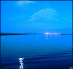 Port de Brest de nuit (2)