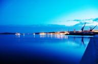 Port de Brest de nuit (5)